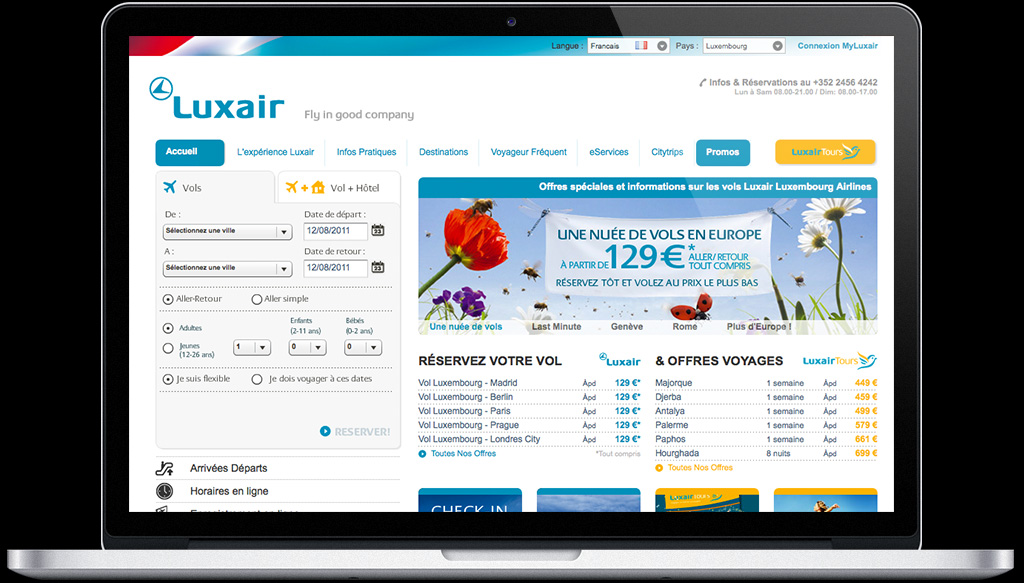 Luxair & LuxairTours